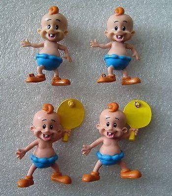 Plastic rubber Israeli BAMBA OSSEM mascot figurines