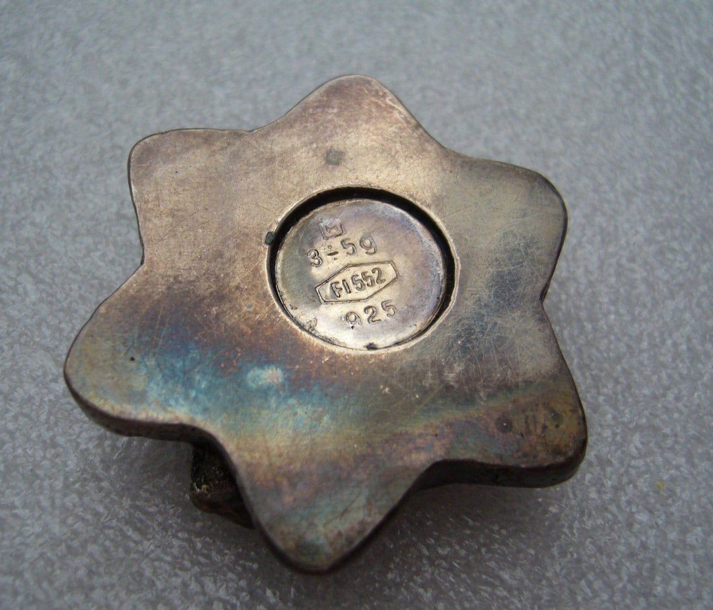 Israeli 1950  silver Magen David  - Star of David